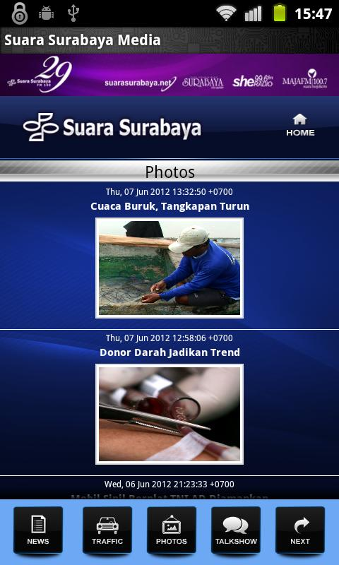 Suara Surabaya Mobile- screenshot