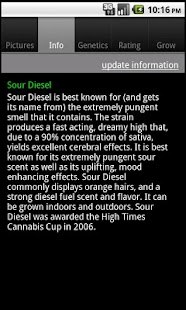 Marijuana Encyclopedia - screenshot thumbnail
