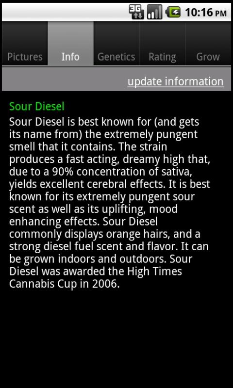 Marijuana Encyclopedia - screenshot