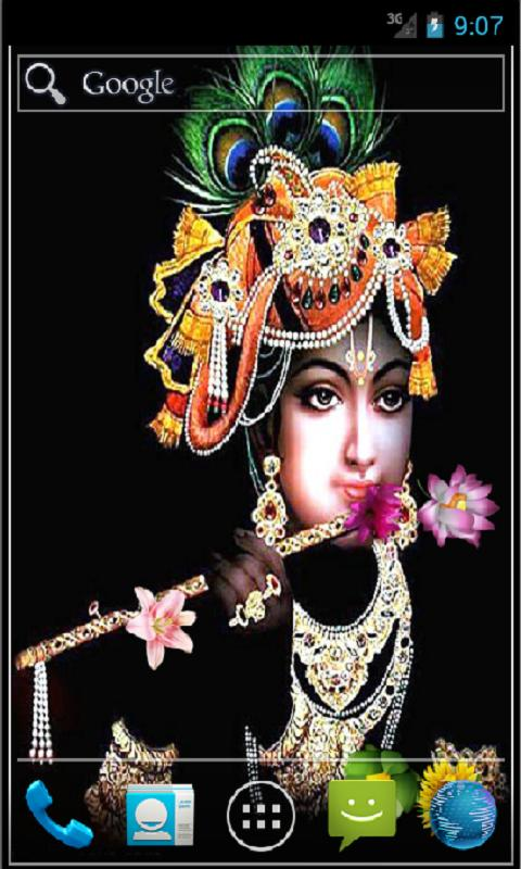 Shree Krishna Live Wallpaper - screenshot