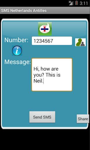 Free SMS Netherlands Antilles