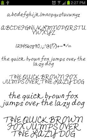 Neat Fonts for FlipFont free 3.16.1 screenshot 1962597
