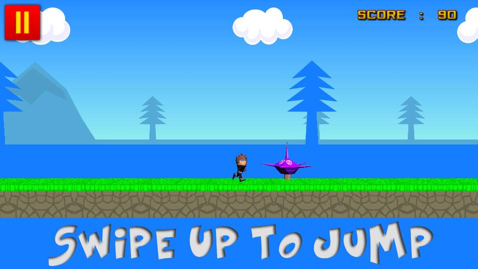 3D Ninja Runner - screenshot