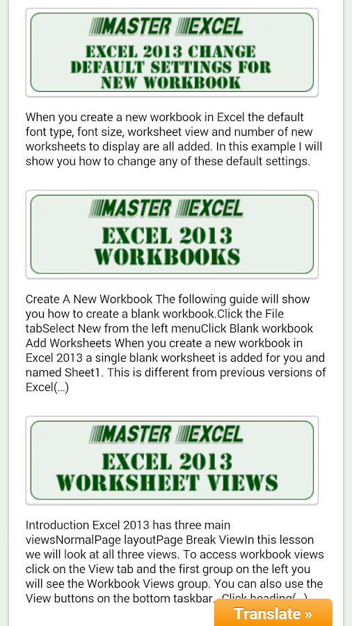 Ediblewildsus  Marvellous Master Excel  Android Apps On Google Play With Extraordinary Master Excel Screenshot With Comely Change Drop Down List In Excel Also How To Highlight Blank Cells In Excel In Addition Excel Task List Template And How To Make A Dropdown In Excel As Well As Excel High School Legit Additionally Excel Change Color Based On Value From Playgooglecom With Ediblewildsus  Extraordinary Master Excel  Android Apps On Google Play With Comely Master Excel Screenshot And Marvellous Change Drop Down List In Excel Also How To Highlight Blank Cells In Excel In Addition Excel Task List Template From Playgooglecom