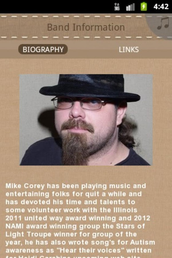 Mike Corey- screenshot