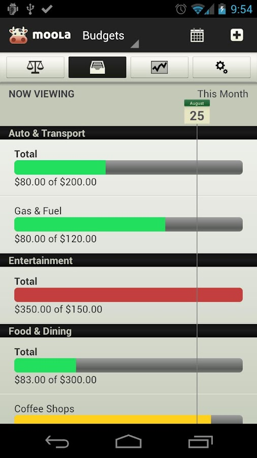 mooLa! (Checkbook & Finance) - screenshot