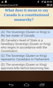 Canadian Citizenship Test - náhled