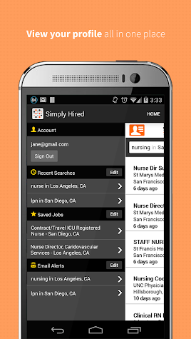 Job Search - Simply Hired Screenshot