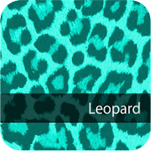 Cute! CyanLeopard WallPaper3