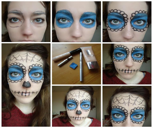 Halloween Makeup Step by Step
