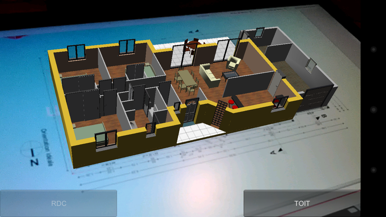 Virtual plan 3d app android su google play for Virtual blueprint maker