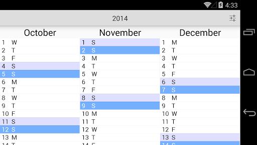 The Calendar Pro 2.9 screenshots 10