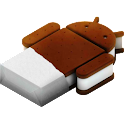 Ice Cream Sandwich Theme Blue logo
