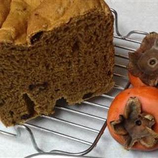 Persimmon Raisin Yeast Bread.