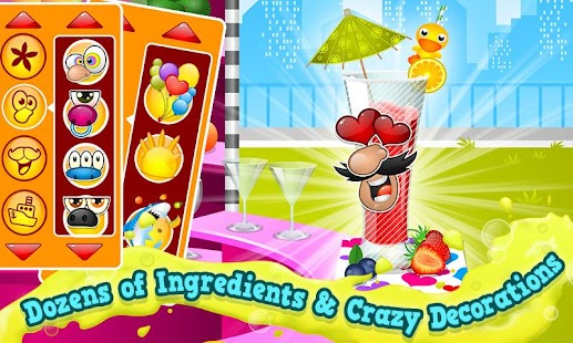 Smoothie Maker Crazy Chef Game - screenshot thumbnail