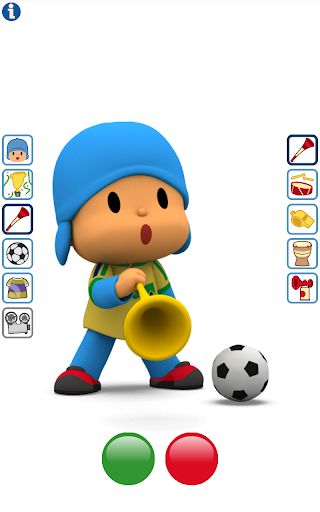 玩免費娛樂APP|下載Talking Pocoyo Football app不用錢|硬是要APP