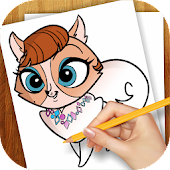 Learn To Draw Little Pet Shop
