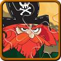 Pirate Puzzle Games for Kids icon