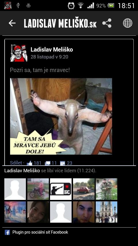 Ladislav Meliško - screenshot