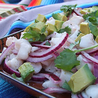 Salt and Pepper Ceviche.