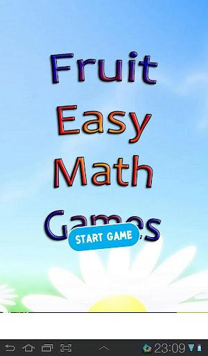水果數學遊戲兒童易