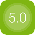 GO Launcher EX UI5.0 theme icon