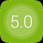 GO Launcher EX UI5.0 theme 2.08 Apk