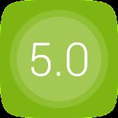 GO桌面UI5.0主题