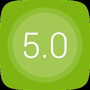 GO Launcher EX UI5.0 theme