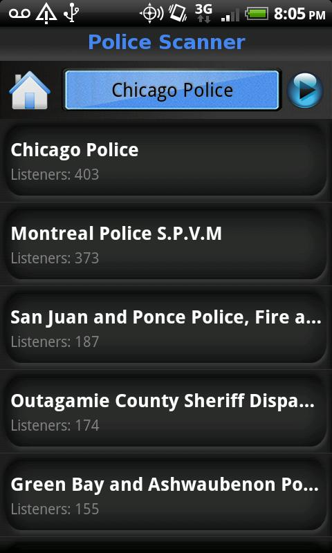Police Scanner 5-0 - screenshot