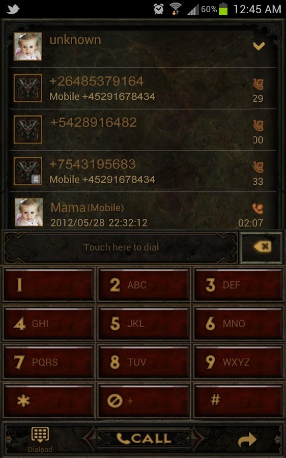 Diablo Dungeon Go Contacts EX - screenshot