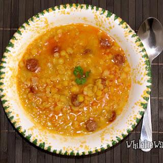 Chorizo Split Pea Soup