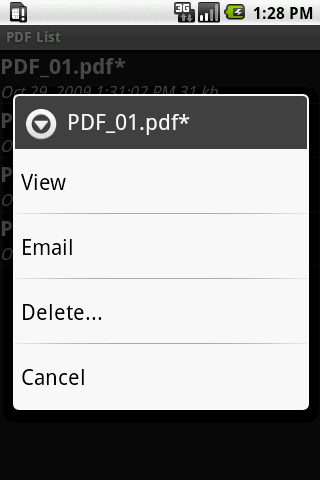 Scan2PDF Mobile Lite- screenshot