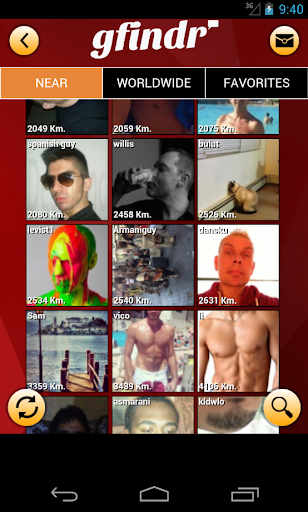 gfindr: gay guys