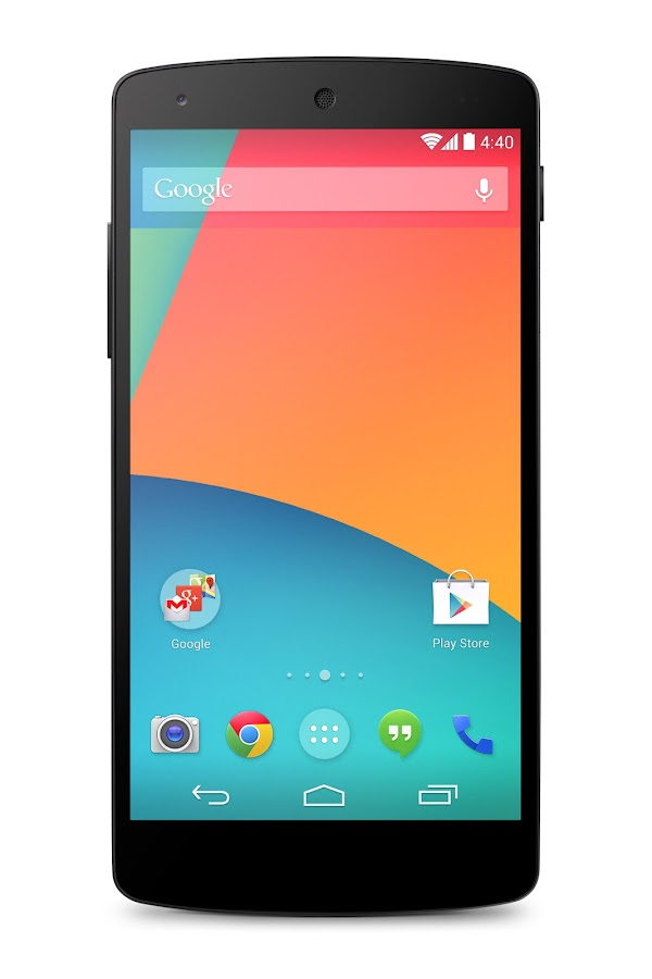 Nexus 5 (16 GB, Black) - screenshot