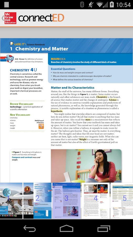 McGraw-Hill ConnectED K-12- screenshot