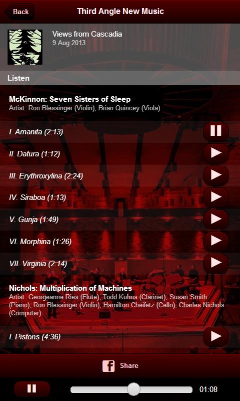 Third Angle New Music - screenshot