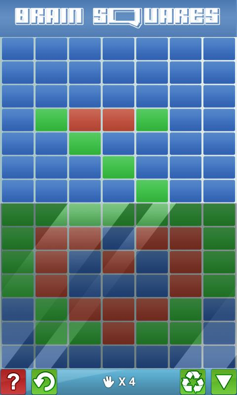 Brain Squares - screenshot