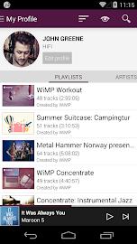 WiMP Screenshot 2
