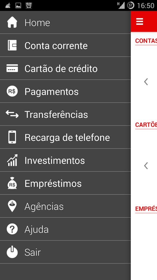 Minha Conta PF - screenshot