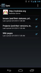 MyMine, Redmine in your pocket- screenshot thumbnail
