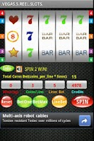Screenshot of Vegas 5 Reel Slots