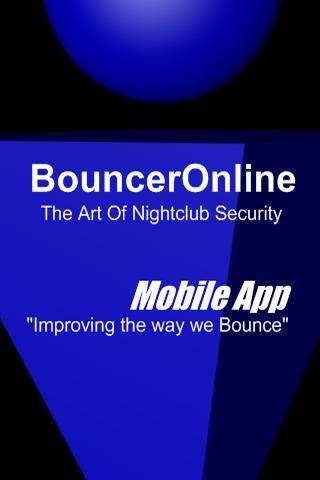 BouncerOnline Mobile App