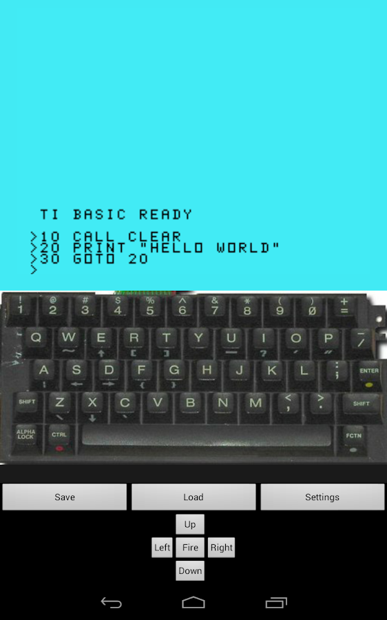Droid 99- screenshot