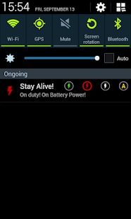 Stay Alive! Keep screen awake- screenshot thumbnail
