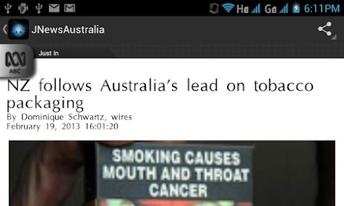 JNewsAustralia screenshot 7