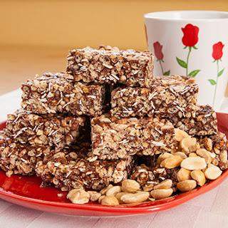 Chocolate Peanut Butter Protein Crisp