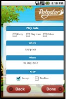 Screenshot of RubyStar - PlayPal