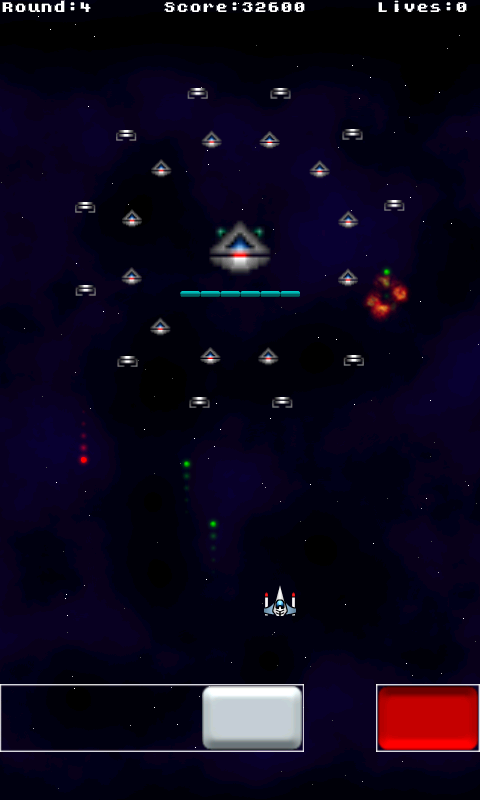 Galaxy Raiders- screenshot