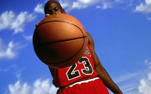 バスケットボールのパズル